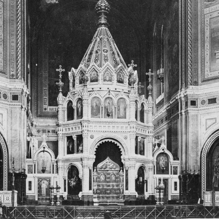 Архитектура русского иконостаса: Великолепие барокко, строгость классицизма и  возвращение к истокам