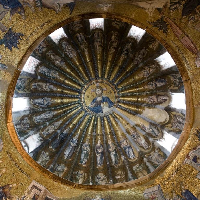 Классический византийский храм и система его декорации: часть вторая