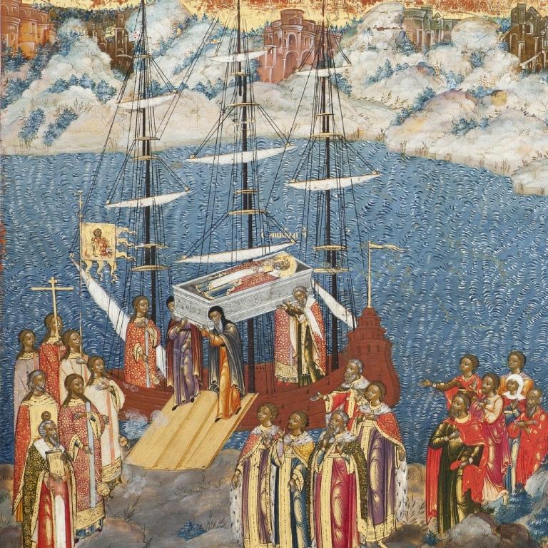 Белоликие образы горнозаводского Урала: Три века Невьянской иконы