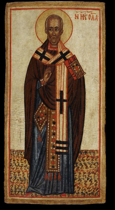 Святой Николай архиепископ Мирликийский