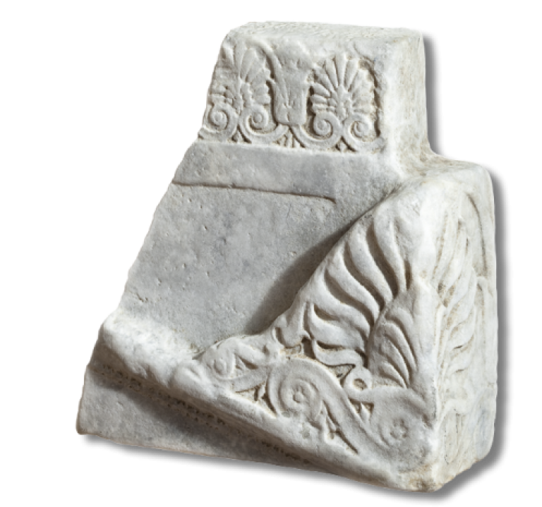 Фрагмент саркофага (или архитектурной детали)