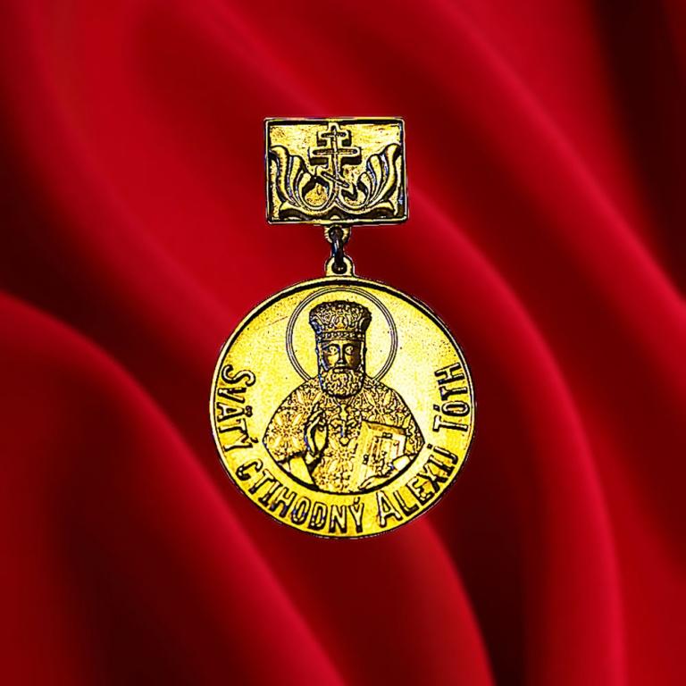 М.Ю. Абрамов награжден золотой медалью св. Алексия Товта I степени