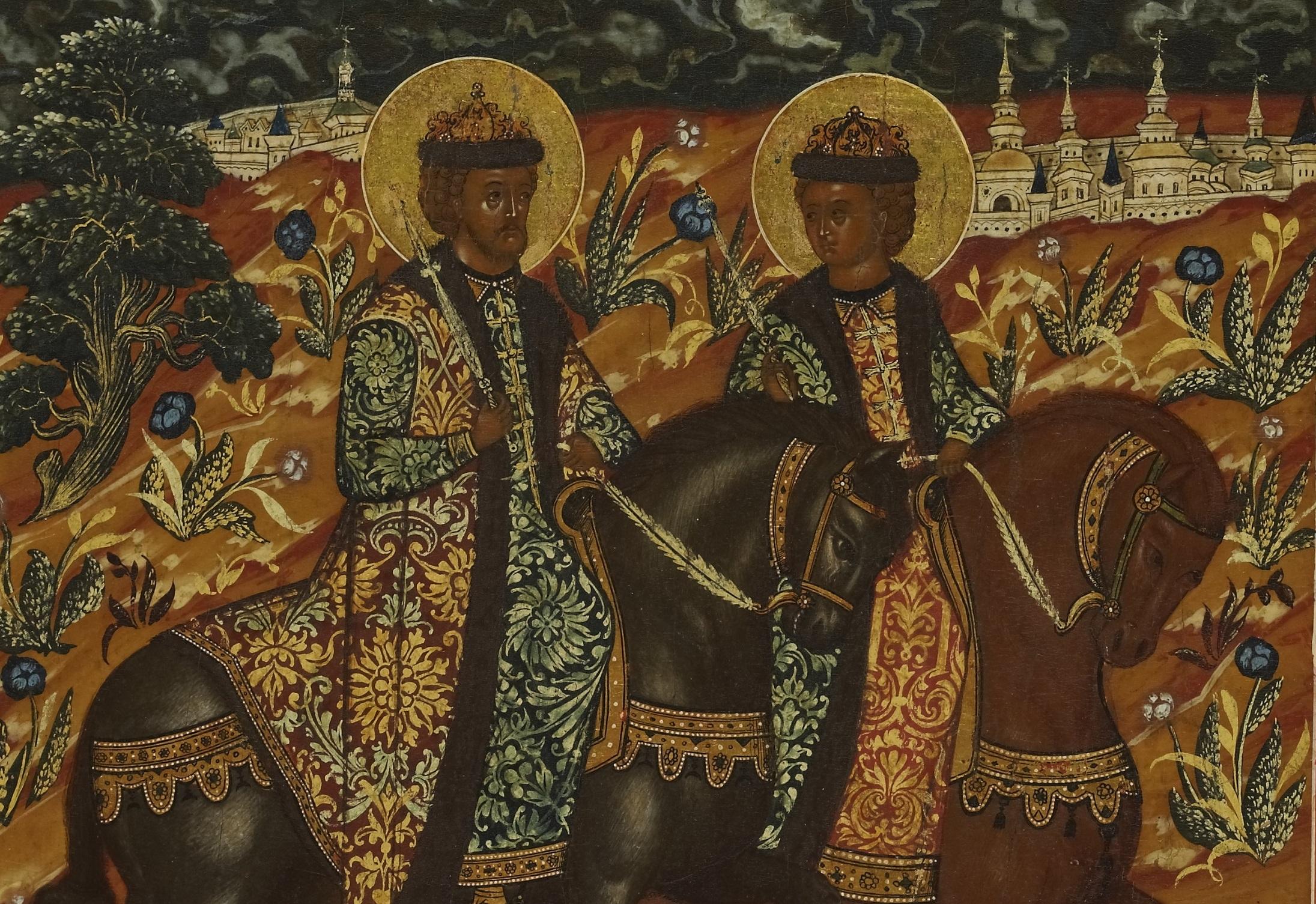 Лекция «Святые князья»