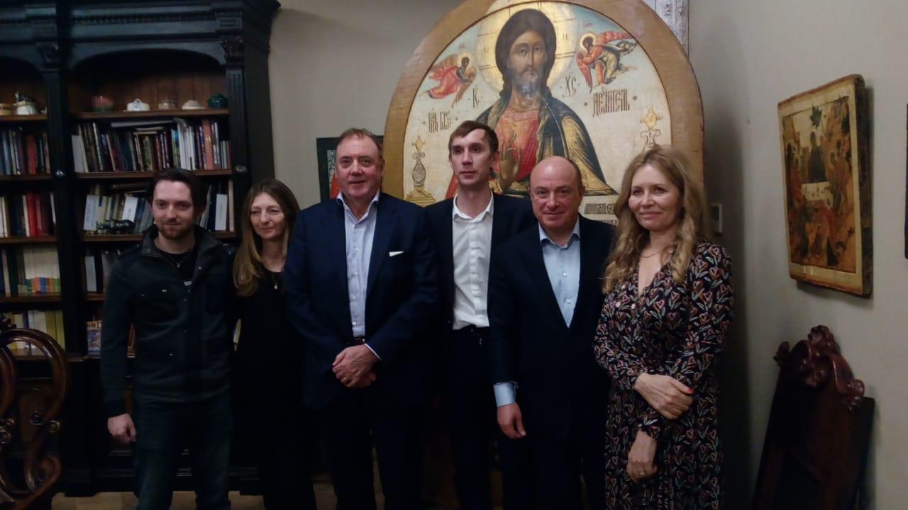 Музей русской иконы посетила правнучка прославленного ювелира Карла Фаберже