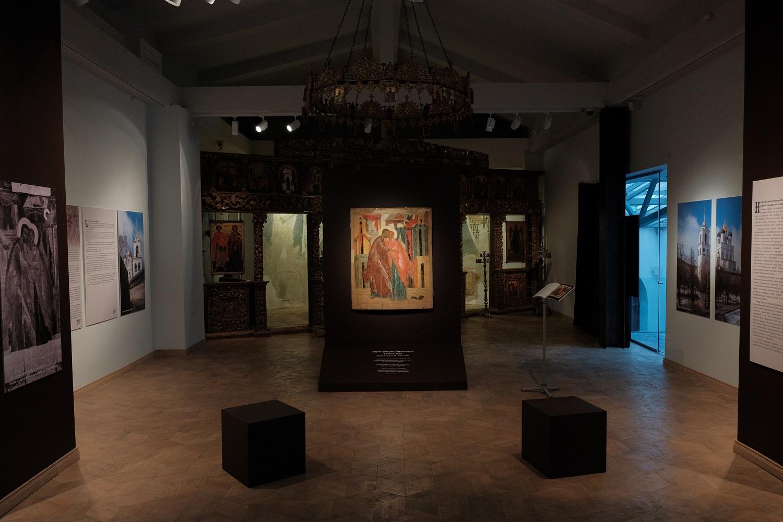 Продлена выставка иконы «Встреча праведных Иоакима и Анны у Золотых ворот»