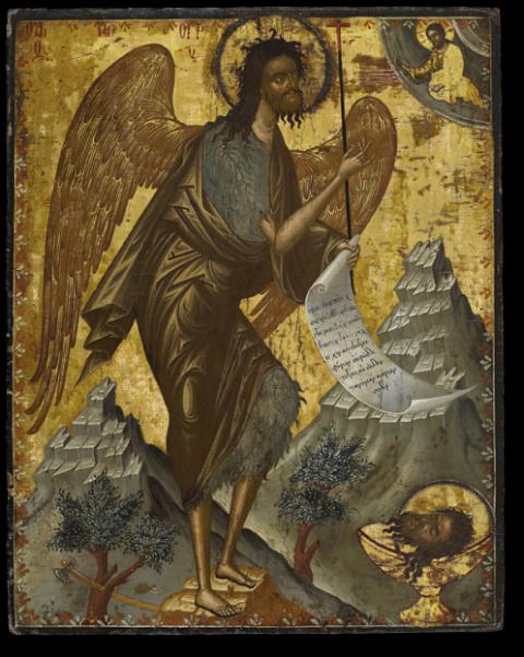 Иоанн Предтеча – ангел пустыни