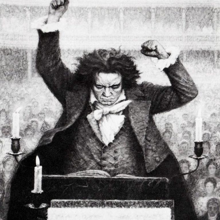 Концерт-рассказ «Революция Бетховена»