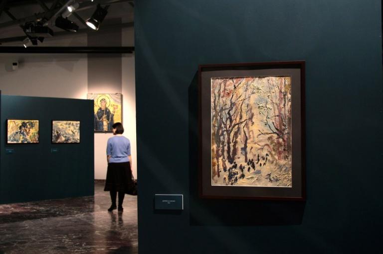Открытие выставки Анатолия Зверева