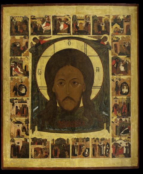 Спас Нерукотворный, с историей образа