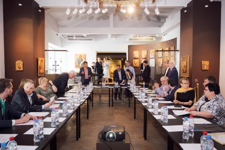 Заседание президиума ИКОМ России в Музее русской иконы