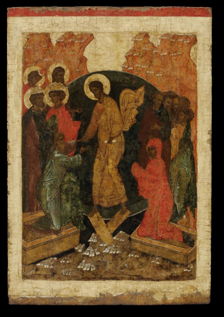 Воскресение – Сошествие во ад, из праздничного чина иконостаса