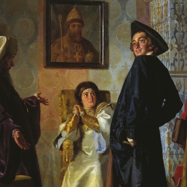 Без патриарха: Церковь в рамках государственного аппарата Российской империи