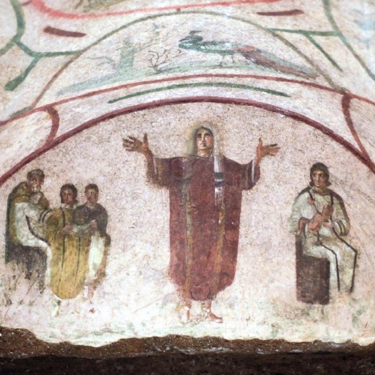 В поиске пространства для молитвы. Живопись и архитектура раннехристианского времени