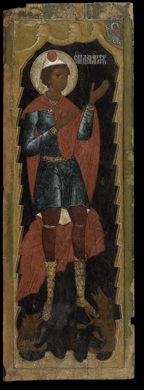 Пророк Даниил во рву львином (дверь жертвенника)