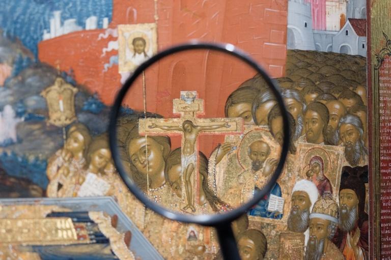 Открытие выставки «Белоликие образы горнозаводского Урала. Три века Невьянской иконы»