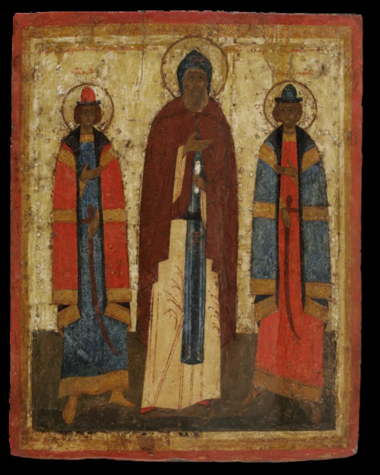 Святые благоверные князья Ярославские Феодор, Давид и Константин
