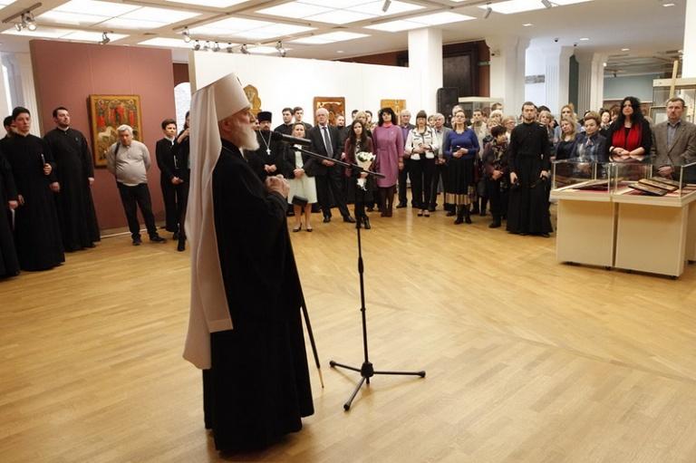 В Минске открылась выставка икон XVII века из собрания музея