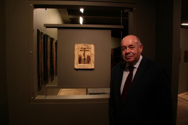 Музей русской иконы посетил М.Е. Швыдкой
